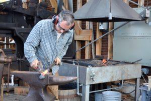 Maine Maritime Museum Blacksmith Shop