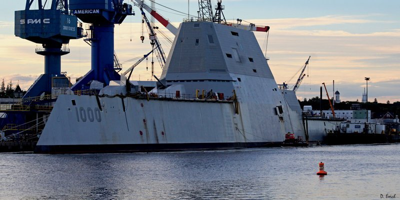 Key image for: By Land & Sea: The Bath Iron Works Story